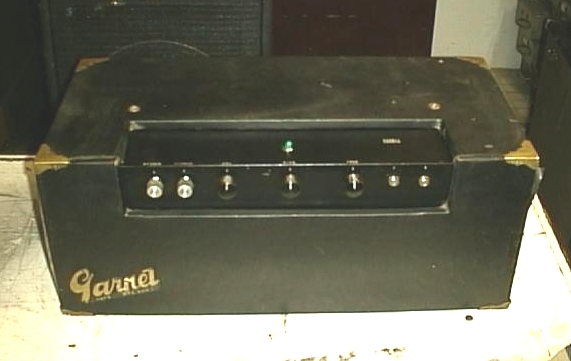 Early Amp Head