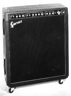 Garnet Session Man Quad 4x12 Combo